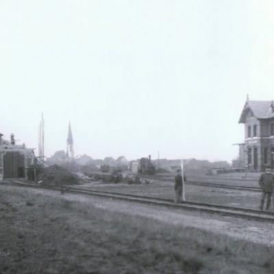 Kurz nach der Fertigestellung - Ober-Roden im Hintergrund (ca. 1895)