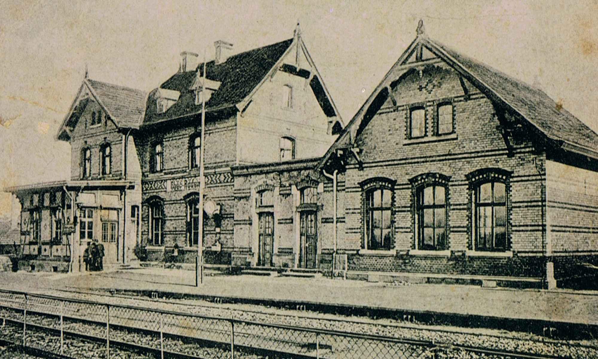 Bahnhof Ober-Roden (ca. 1915)